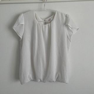 アオヤマ(青山)のn♡line Precious ホワイト シフォンブラウス(シャツ/ブラウス(半袖/袖なし))