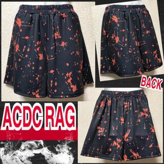 エーシーディーシーラグ(ACDC RAG)の【新品/ACDC RAG】血飛沫柄ショートパンツ(ショートパンツ)