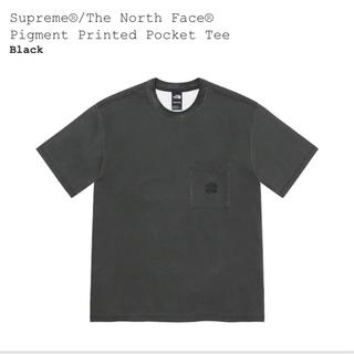 シュプリーム(Supreme)のtee XL  supreme the north face tee 黒(Tシャツ(半袖/袖なし))
