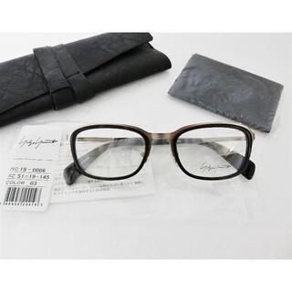 ヨウジヤマモト(Yohji Yamamoto)の新品 Yohji Yamamoto 眼鏡 コンビ フランス製 ヨウジヤマモト(サングラス/メガネ)