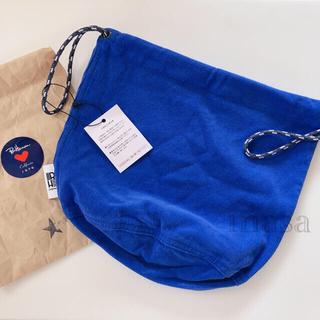 ロンハーマン(Ron Herman)の未使用 ロンハーマン 巾着バッグ コーデュロイ ブルー ポシェットバッグ(その他)