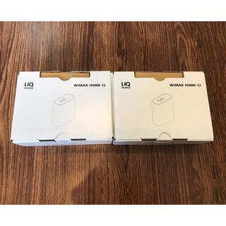 NEC - 【新品・未使用】NEC Wimax Home 02  2台セット