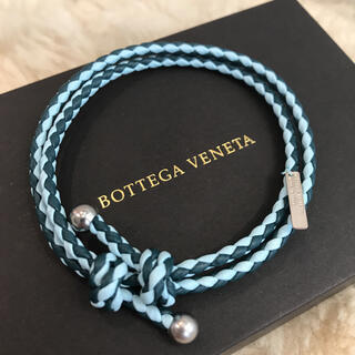 ボッテガヴェネタ(Bottega Veneta)の☆新品☆ボッテガヴェネタ ブレスレット レザー イントレチャート(ブレスレット/バングル)