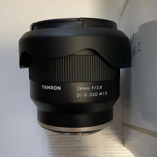タムロン(TAMRON)のタムロン TAMRON 広角 24mm F2.8 Di III OSD M1:2(レンズ(単焦点))