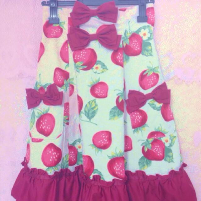 Heart E(ハートイー)のHeartEハイウエストスカート レディースのスカート(ひざ丈スカート)の商品写真