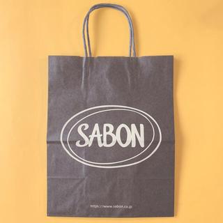 サボン(SABON)のSABON ショップ袋 中サイズ 紙袋 買い物袋 プレゼント用 ラッピング用(ショップ袋)