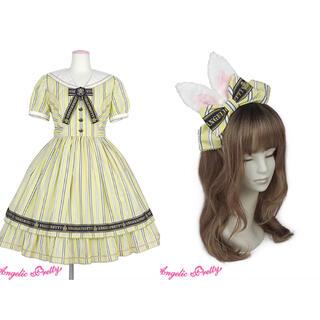 アンジェリックプリティー(Angelic Pretty)のBunny College Summer set(ひざ丈ワンピース)