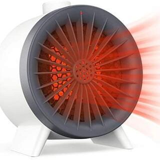 セラミックヒーター 小型電気ストーブ 足元 3秒速熱 ミニ電気ファンヒーター 送(電気ヒーター)