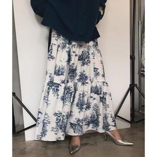 アメリヴィンテージ(Ameri VINTAGE)のアメリヴィンテージアヴァチュールドッキングスカート(ロングスカート)