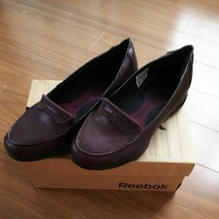 リーボック(Reebok)の【美品】Reebok easytone too pennie(ローファー/革靴)
