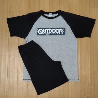 アウトドア(OUTDOOR)のOUTDOOR Boy'sパジャマ セットアップ160②(パジャマ)