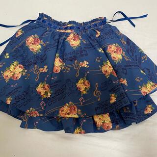 リズリサ(LIZ LISA)の音符柄ミニスカート(ミニスカート)