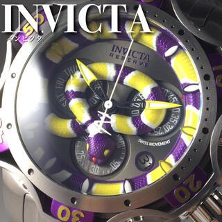 インビクタ(INVICTA)の★超かっこいい!!定価35万円★インビクタ/ベノム/メンズ腕時計WW1039(腕時計(アナログ))