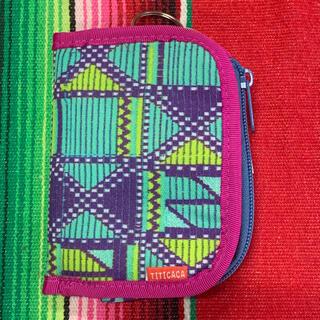 チチカカ(titicaca)の新品 TITICACA 2way キカ ウォレット  pi(折り財布)