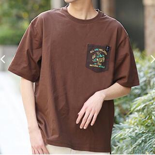 チチカカ(titicaca)の新品 TITICACA USAコットン 刺繍ポケットTシャツ チチカカ b(Tシャツ/カットソー(半袖/袖なし))