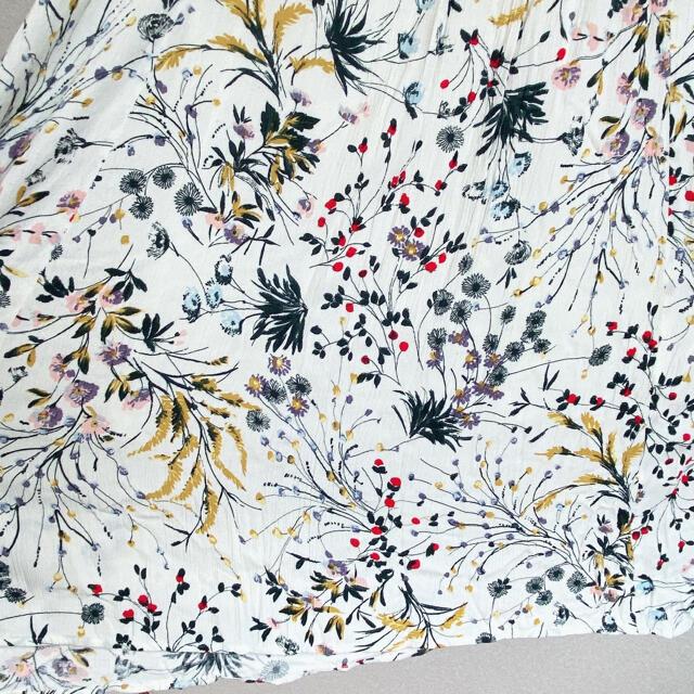 Solberry(ソルベリー)のsoul Berry 花柄 ノースリーブ ワンピース マタニティ服 ベルト付 レディースのワンピース(ひざ丈ワンピース)の商品写真