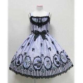 アンジェリックプリティー(Angelic Pretty)のシネマドール ジャンパースカート(ひざ丈ワンピース)
