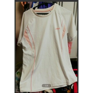 アシックス(asics)のアシックス Tシャツ レディース(Tシャツ(半袖/袖なし))