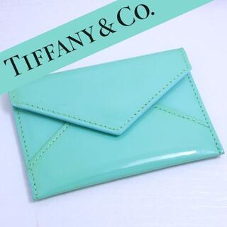 Tiffany & Co. - ティファニー TIFFANY 名刺入れ エナメルカードケース
