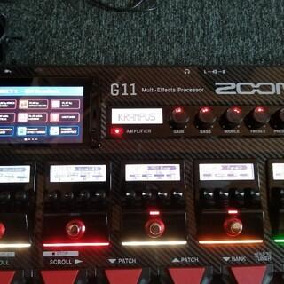 ズーム(Zoom)のzoom  g11 マルチエフェクター(エフェクター)