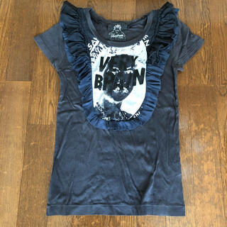 ベリーブレイン(Verybrain)のverybrain フリルTシャツ(Tシャツ(半袖/袖なし))