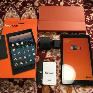 アンドロイド(ANDROID)のアマゾン fire HD 10 タブレット 第7世代 32GB やや傷汚れあり(タブレット)