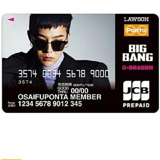 ビッグバン(BIGBANG)のBIGBANG GDRAGON ジヨン ポンタカード(アイドルグッズ)