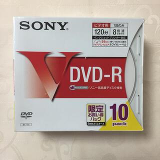 ソニー(SONY)のSONY DVD-R for VIDEO 10枚組 型番10DMR12HPSS(その他)