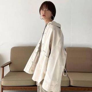 アメリヴィンテージ(Ameri VINTAGE)のCLANE back squeeze denim jacket(Gジャン/デニムジャケット)