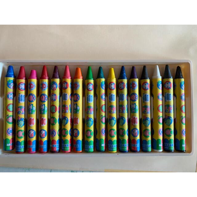 クレヨン16色セット エンタメ/ホビーのアート用品(クレヨン/パステル)の商品写真