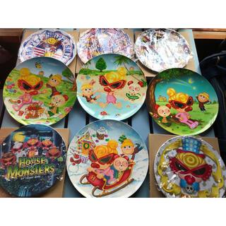 ヒステリックミニ(HYSTERIC MINI)のヒスミニ  メラミン皿 9枚セット(食器)