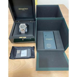オーデマピゲ(AUDEMARS PIGUET)の「超絶美品」オーデマピケロイヤルオーク 15400st 黒(腕時計(アナログ))