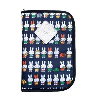 【miffy】ミッフィー★マルチケース★母子手帳ケース(K-8754)総柄/NV(母子手帳ケース)