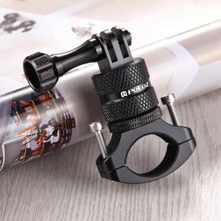 ゴープロ(GoPro)のGoPro対応 六角レンチ付きアルミ削り出し バイクハンドルバー回転 マウント(パーツ)
