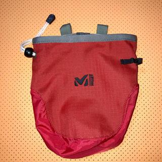 ミレー(MILLET)のミレー MILLET  チョークバッグ 赤(登山用品)