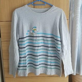 ディズニー(Disney)のドナルドTシャツ(Tシャツ(長袖/七分))