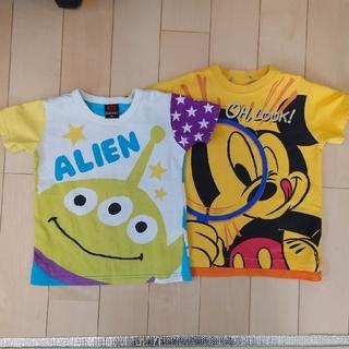 ベビードール(BABYDOLL)のbabydoll &ディズニー Tシャツ 2枚セット(110)(Tシャツ/カットソー)