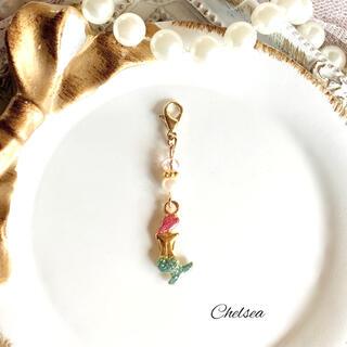 ディズニー(Disney)のゆめかわいい 〜mermaid〜 人魚姫プリンセスのマスクチャーム(チャーム)