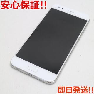 ゼンフォン(ZenFone)の新品同様 SIMフリー ZenFone 4 ホワイト 本体 白ロム (スマートフォン本体)