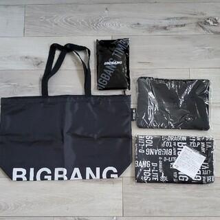 ビッグバン(BIGBANG)のBIGBANG エコバッグ トート フラットポーチ クラッチバッグ(エコバッグ)