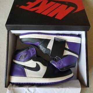 jordan1 court purple royal (スニーカー)