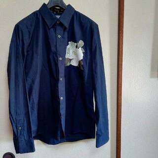 メンズティノラス(MEN'S TENORAS)の⭐カワムラ様専用です❕Tenoras イケメンシャツ❤️薔薇の転写プリントシャツ(シャツ)