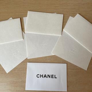 シャネル(CHANEL)の【新品未使用】CHANEL メッセージカード(カード/レター/ラッピング)