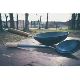 ヨコザワテッパン おやじキャンプ飯 おやじ中華鍋(調理器具)