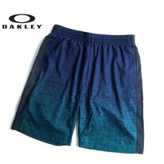 オークリー(Oakley)の新品 OAKLEY オークリー グラフィックプリント ハーフパンツ M(ウェア)