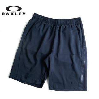 オークリー(Oakley)の新品 OAKLEY オークリー クロスショートパンツ スポーツウェア 黒 M(ウェア)