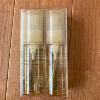 ムジルシリョウヒン(MUJI (無印良品))の新品✨無印良品✨ヘアセラム✨ヘアオイル✨45ml 二本セット(オイル/美容液)