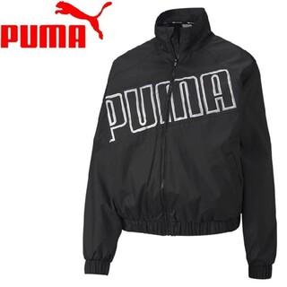 プーマ(PUMA)のプーマ パーカー メッシュ ジャケット トレーニングウェア(レディースL)(テーラードジャケット)