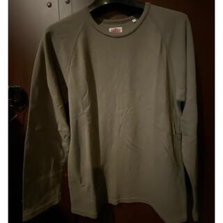 ハリウッドランチマーケット(HOLLYWOOD RANCH MARKET)のハリウッドランチマーケット ストレッチフライスカットソー 5   美品(Tシャツ/カットソー(七分/長袖))