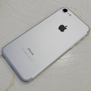 アイフォーン(iPhone)のsimフリー iPhone7 32GB シルバー 超美品 (スマートフォン本体)